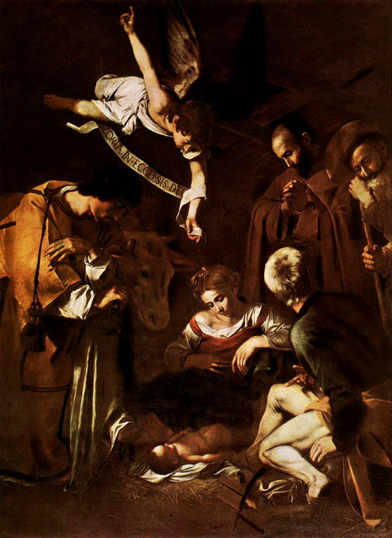 nativity-st.francis-and-st.lawrence-caravaggio