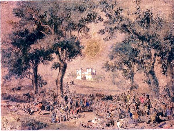 quadro achille vianelli 1860
