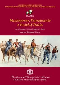 COPERTINAG. GALASSO Mezzogiorno Risorgimento e Unita d'Italia