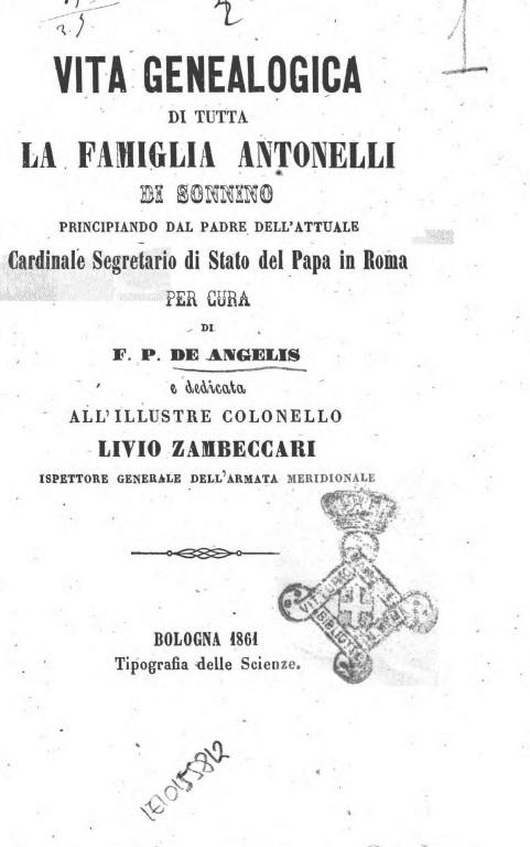 COPERTINAmolestie Vita_genealogica_di_tutta_la_famiglia_An