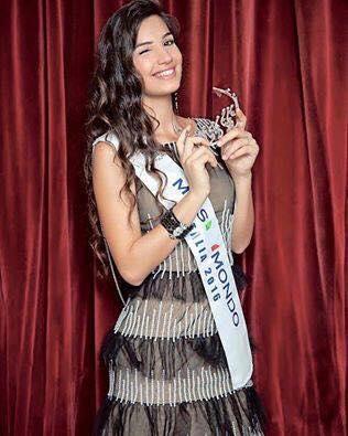 Giada Tropea, Miss Mondo Italia 2016
