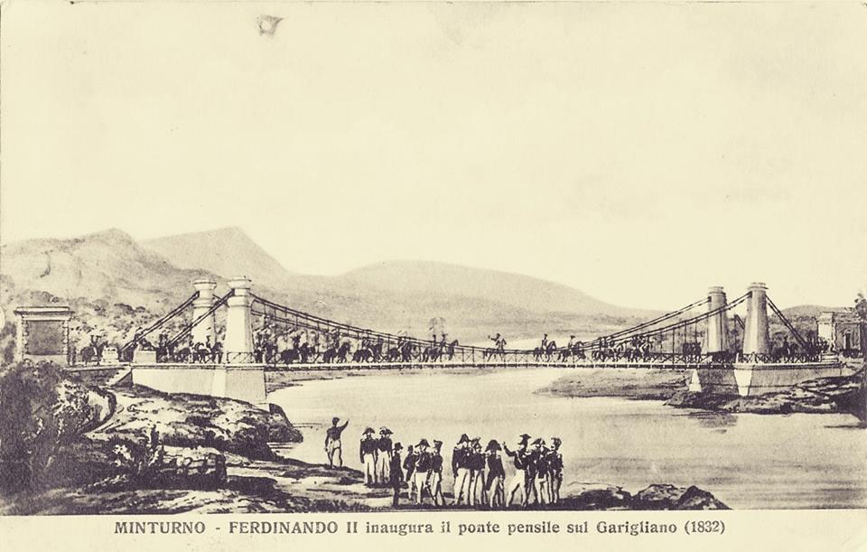 Inaugurazione ponte 1832