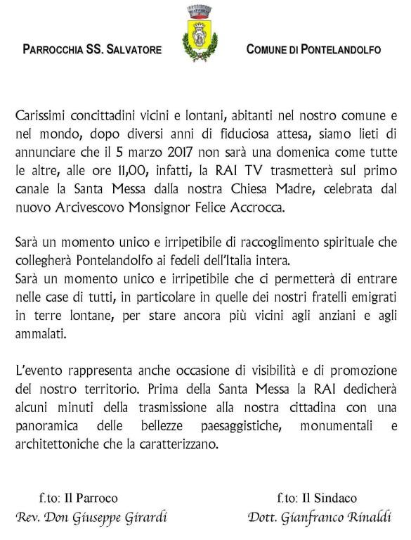 Santa Messa_locandina