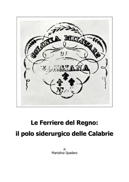 copertina da Ferriere_Mongiana