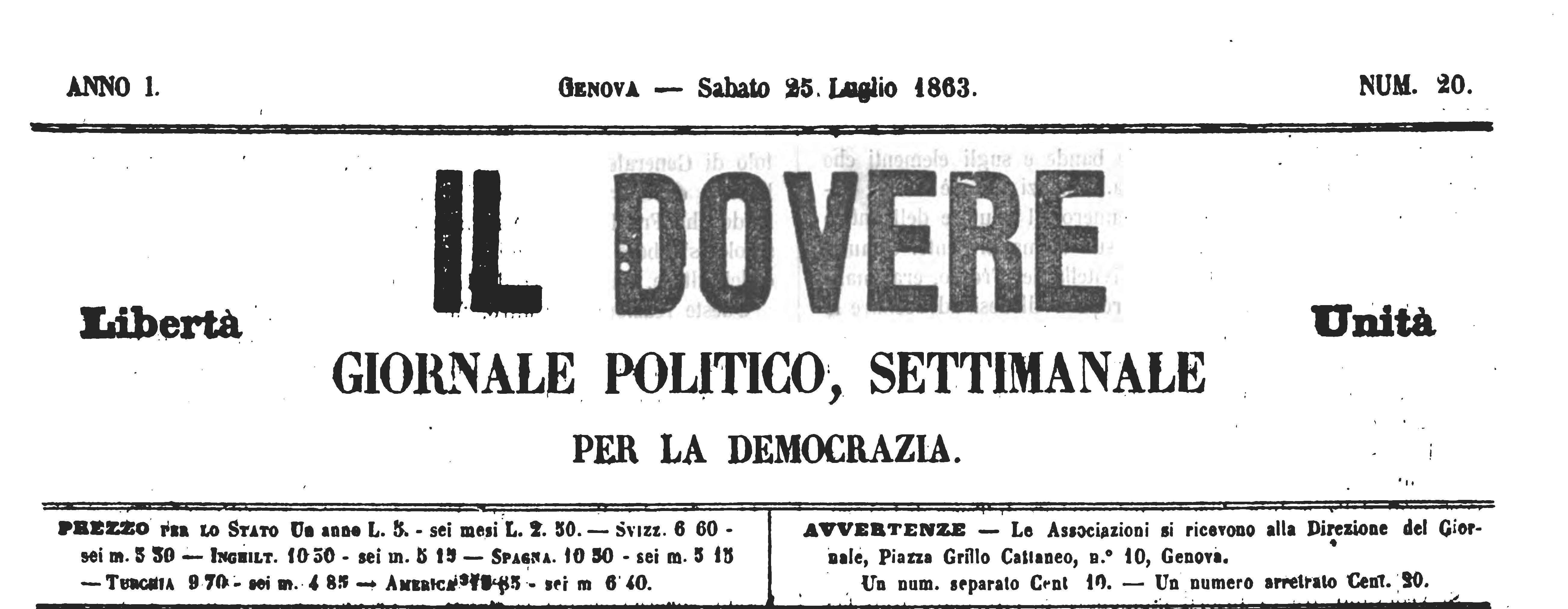 dovere n 20