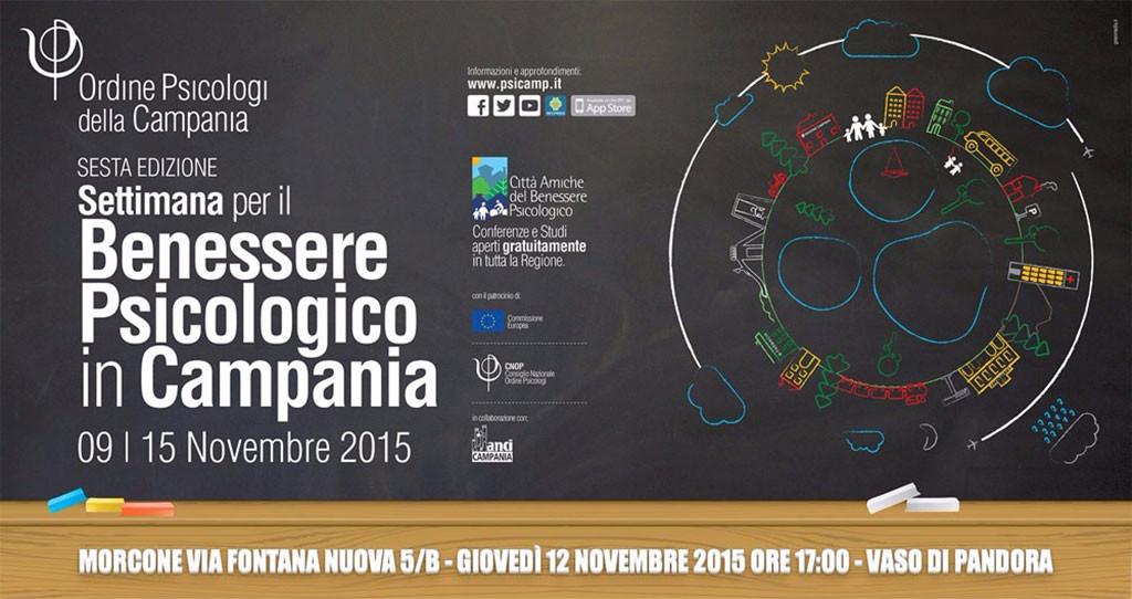 Settimana del Benessere Psicologico in Campania - Sesta Edizione