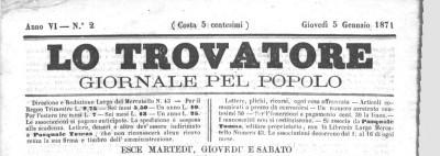 titolo 5 gennaio 1871