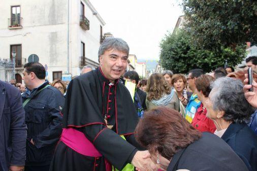 Cerreto Sannita accoglie il suo nuovo vescovo - Pontelandolfo News